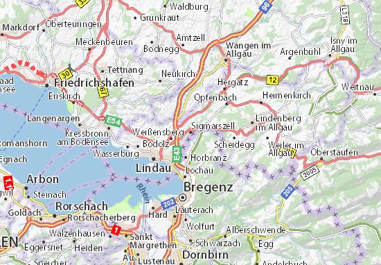 Carte-Plan Sigmarszell