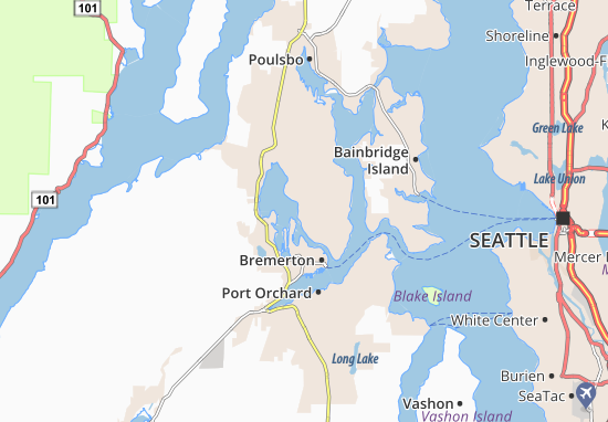 Kaart Plattegrond Tracyton