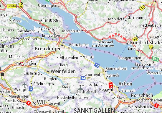 Carte-Plan Altnau