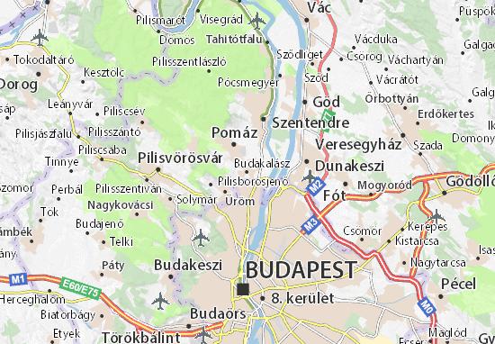 Mapas-Planos Budakalász