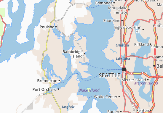 Bainbridge Island Map