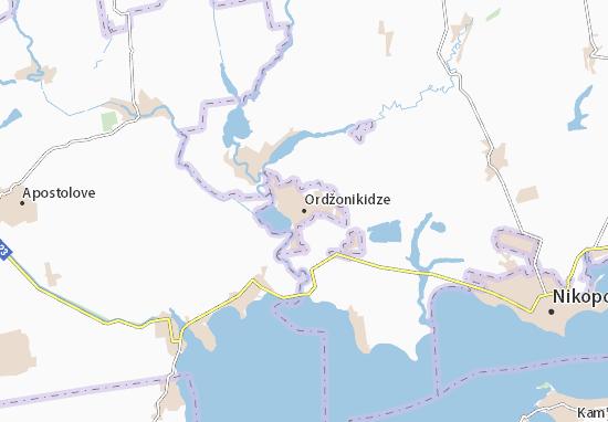 Ordžonikidze Map