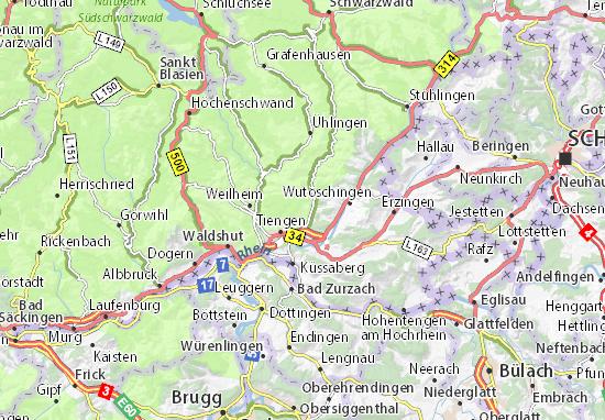 Got Karte.Karte Stadtplan Breitenfeld Viamichelin