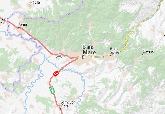 Baia Mare Map