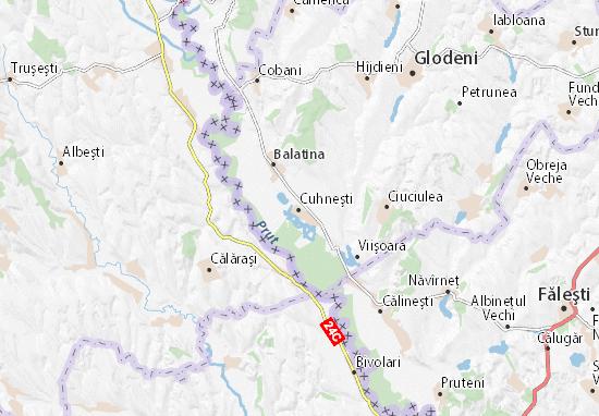 Cuhneşti Map