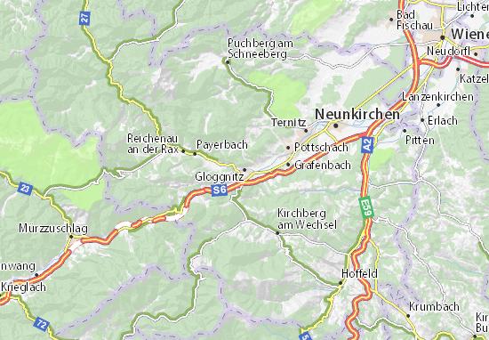 Mapas-Planos Gloggnitz