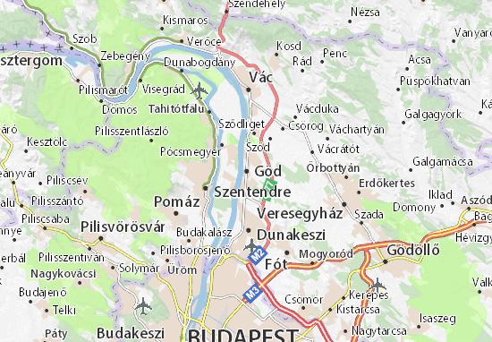 Göd Map