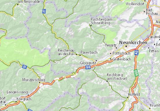 Payerbach Map