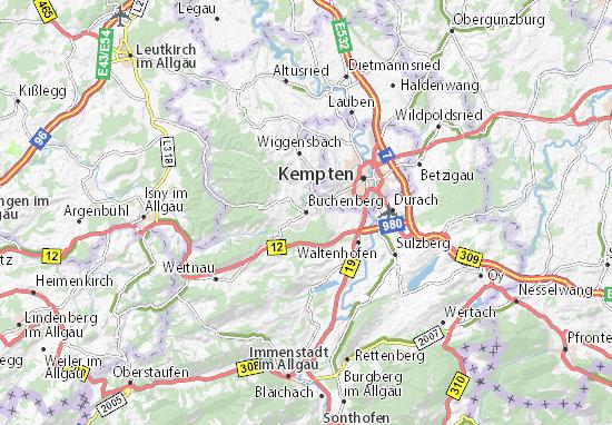 Buchenberg Map