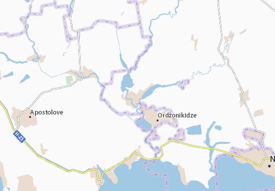 Sholokhove Map