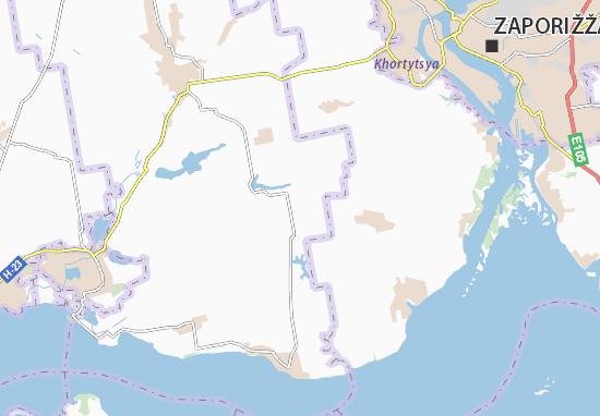 Mapa Plano Vyvodove