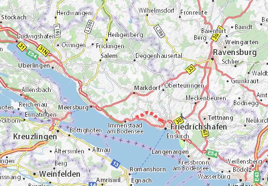 Markdorf Map