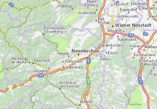 Carte-Plan Neunkirchen