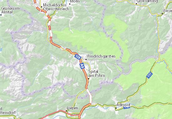 Mapas-Planos Windischgarsten