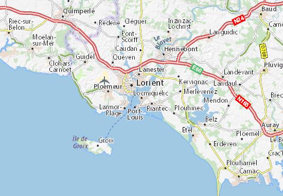Mappe-Piantine Locmiquélic
