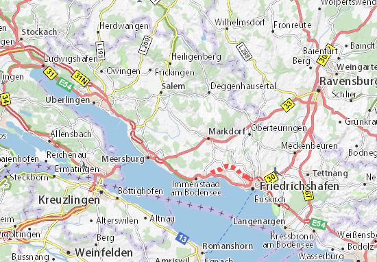Bermatingen Map