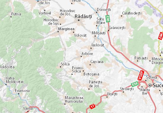Arbore Map