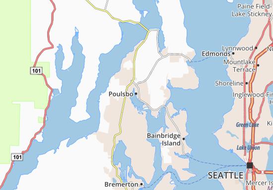 Poulsbo Map