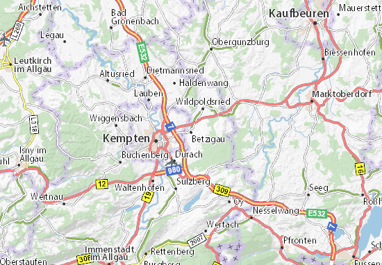 Betzigau Map