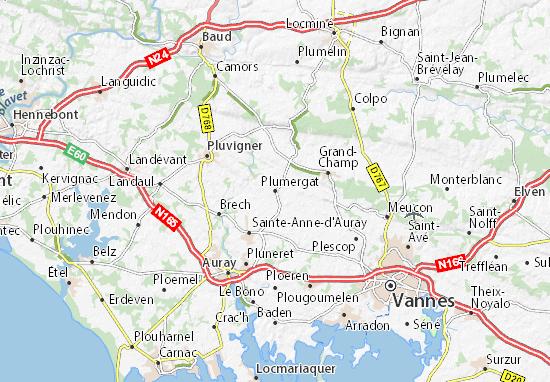 Plumergat Map
