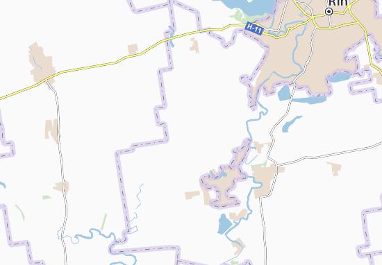 Mapas-Planos Shyroka Dolyna