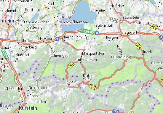 Mappe-Piantine Marquartstein