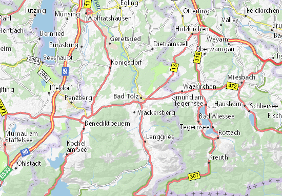 Bad Tölz Map