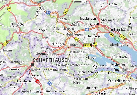 Singen Map