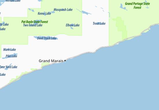 Croftville Map