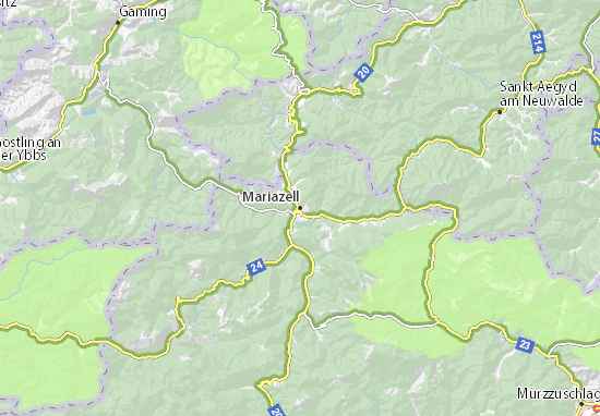 Mariazell Map