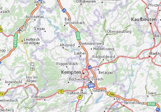 Lauben Map