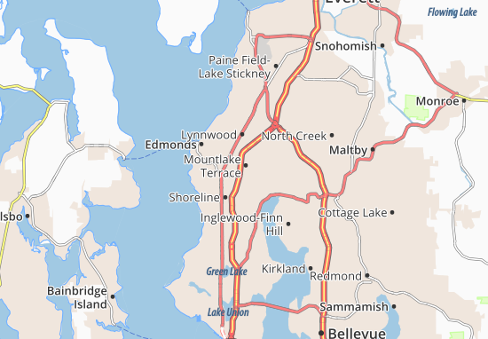 Mountlake Terrace Map