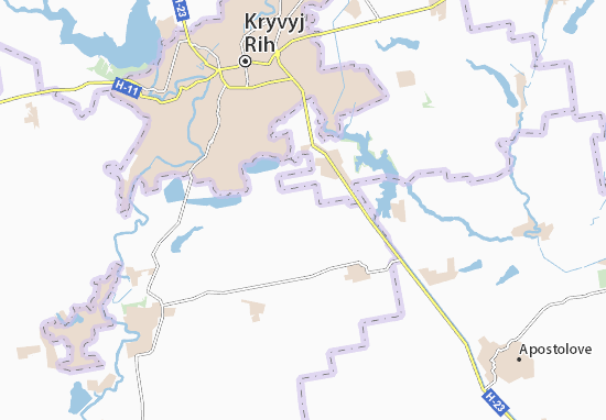 Rozy Lyuksemburh Map