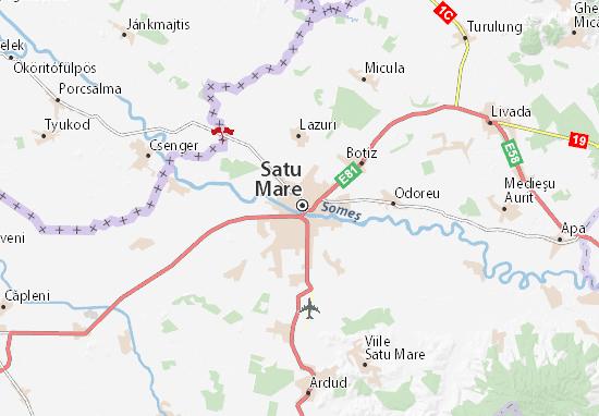 Satu Mare Map
