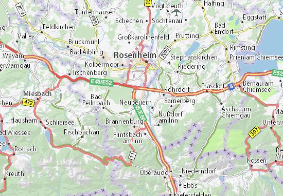 Raubling Map