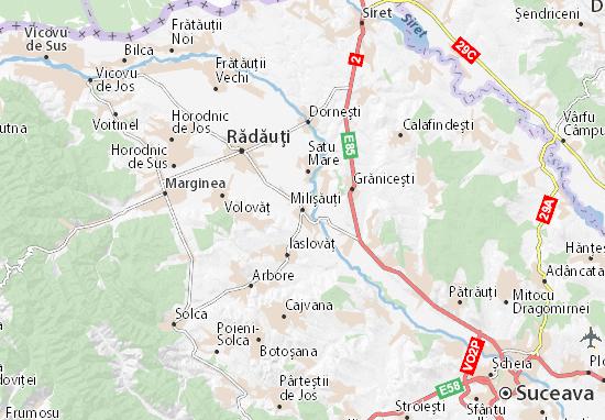 Milişăuţi Map