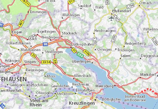 Carte-Plan Sipplingen