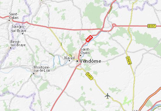 Mappe-Piantine Saint-Ouen