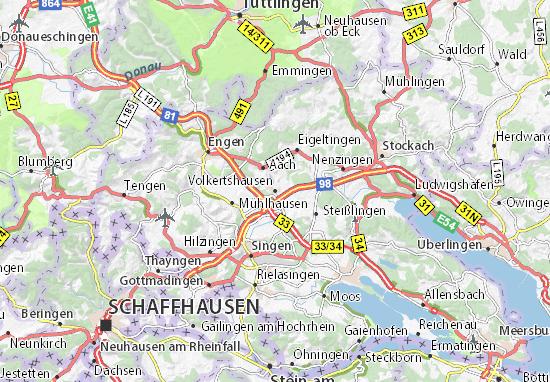 Carte-Plan Volkertshausen