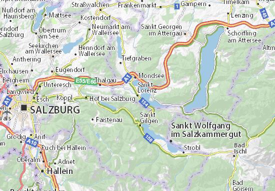 Mapas-Planos Sankt Lorenz