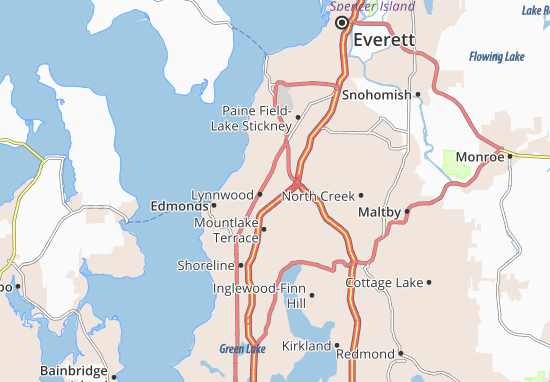 Lynnwood Map