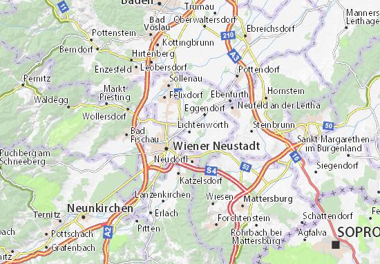 Mapas-Planos Lichtenwörth