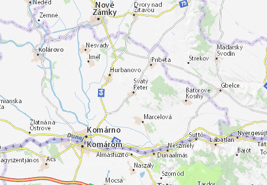 Mapas-Planos Svätý Peter