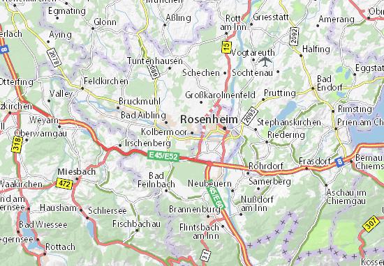 Kolbermoor Map