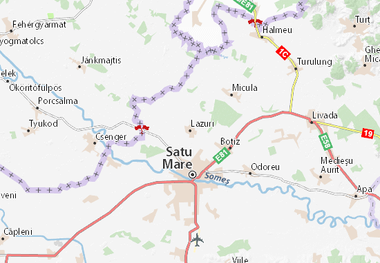 Lazuri Map