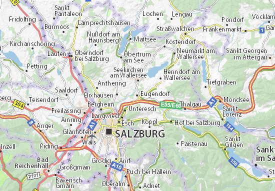 Eugendorf Map