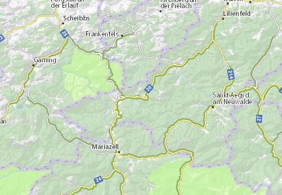 Mapa Plano Annaberg