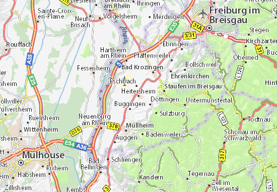 Heitersheim Map