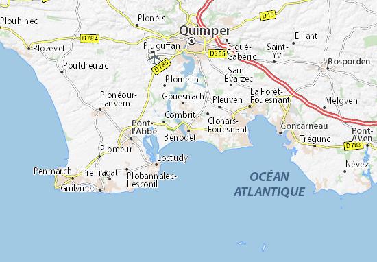 Mappe-Piantine Bénodet