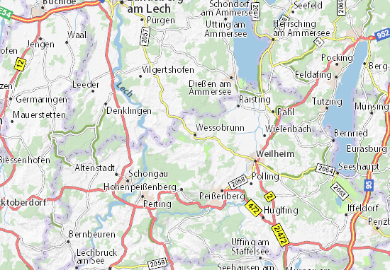 Wessobrunn Map